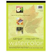 "11"" x 14"" Artist Watercolor Pad"
