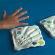 Clay Handprint Kit (pack of 10)