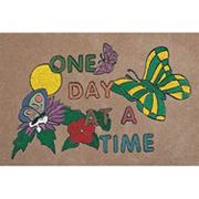 Decorative Mat -  &quot;One Day At A Time&quot;