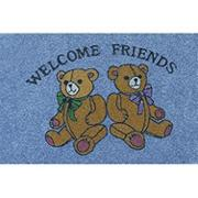 "Decorative Mat - ""Bears Welcome"""