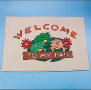 Frogs Decorative Mat