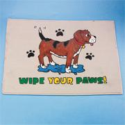 Wipe Your Paws Decorative Mat