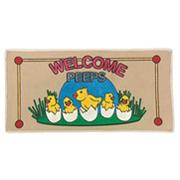 Welcome Peeps Bedside Carpet Runner