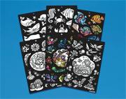 Velvet Stickers (pack of 425)