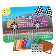 Race Car Sticky Mosaics�