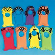 Velvet Art EVA Animal Door Hangers (pack of 16)