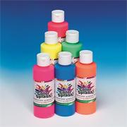 8-oz. Color Splash! Fluorescent Acrylic Paint  (pack of 6)