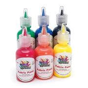 Color Splash!� Fabric Paint Primary 1-oz  (pack of 6)