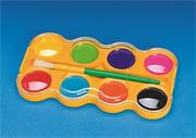 Color Splash!� Jumbo Watercolor Paint Tray