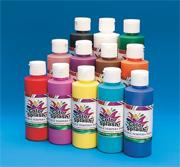 8-oz. Color Splash! Washable Tempera Paint (pack of 12)