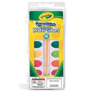 Crayola� Washable Watercolors (set/16)