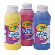 Crayola� Washable Tempera Paint Set, Primary Colors  (set of 3)