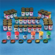 Color Splash!� Fluorescent Tempera Paint Pass Around Pack  (pack of 48)
