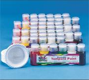Color Splash! Washable Tempera Paint Pass Around Pack, 3/4 oz. (pack of 48)
