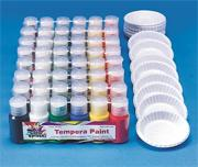 Color Splash!� Liquid Tempera Paint Pass Around Pack  (pack of 48)