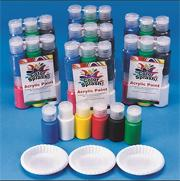 Color Splash! Acrylic Paint Pass Around Pack, 3/4 oz. (pack of 48)