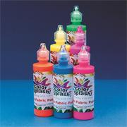Color Splash! Neon Fabric Paint 4 oz. (set of 6)