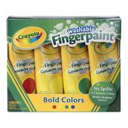 Crayola Finger Paint, Primary Colors 5 oz. (set of 4)