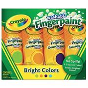 Crayola� Finger Paint, Secondary Colors 4 oz. (set of 4)
