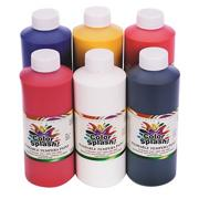Color Splash! Washable Tempera Paint, 16 oz.  (pack of 6)