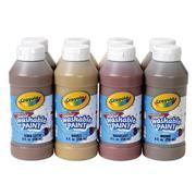 Crayola Multicultural Washable Tempera Paint (set of 8)