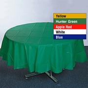 84&quot; Round Plastic Table Cover