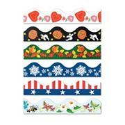 Bulletin Board Seasonal Borders  (pack of 6)