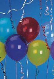 9&quot; Latex Balloons - Assorted Colors  (pack of 25)