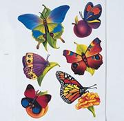 Butterfly Window Clings (set of 6)