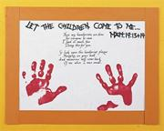 Handprint Poem with Scripture Craft Kit (make