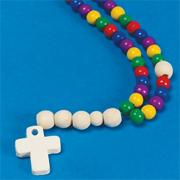 Beaded Rosary Craft Kit (makes 12)
