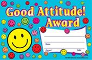 Good Attitude Award Pack  (pack of 25)
