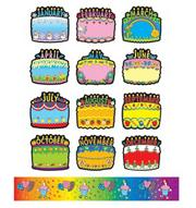Birthday Bulletin Board Set (set/18)