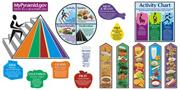 Food Pyramid Bulletin Board Set