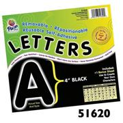 Bulletin Board Letters  (pack of 78)