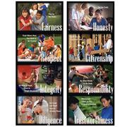 Character Education Poster Pack  (pack of 8)