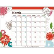 Go Write! Dry-Erase Calendar, Bunches of Blooms