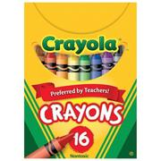 Crayola Regular Size Crayons, Box of 16 (pack of 12)