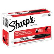 Sharpie Retractable Black Markers  (pack of 12)