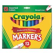 CrayolaClassic Markers  (box of 12)