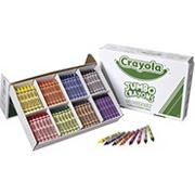 Crayola��Jumbo Crayon Classpack�, 8 colors (box of 200)