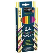 Sargent Art� Assorted Colored Pencils  (pack of 24)