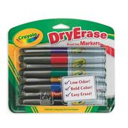 Crayola Dry Erase Markers  (pack of 8)