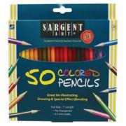 Sargent Art� Assorted Colored Pencils (pack of 50)