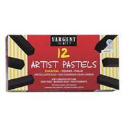 Charcoal Square Pastels  (pack of 12)