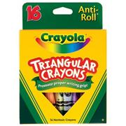 Crayola��Triangular Crayons (box of 16)