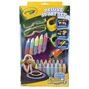 Crayola 3-D Sidewalk Chalk Set