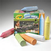 Crayola Giant Sidewalk Chalk (pack of 24)