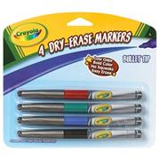 Crayola� Dry-Erase Fineline Markers (set of 4)