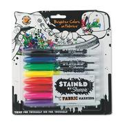 Sharpie� Brush Fabric Markers (pack of 8)
